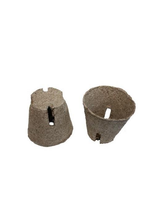 Jiffy-Pots, 6.0 cm rund, mit Schlitz