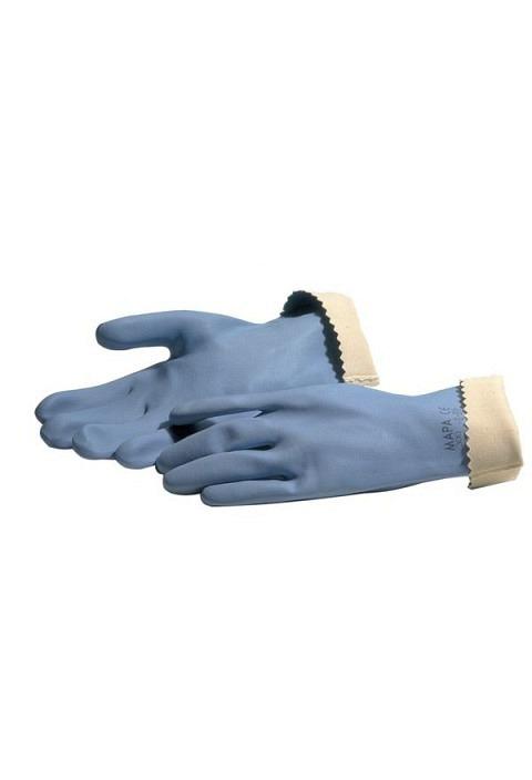 Handschuhe MAPA Jersette 300, Gr 7- 7.5 blau