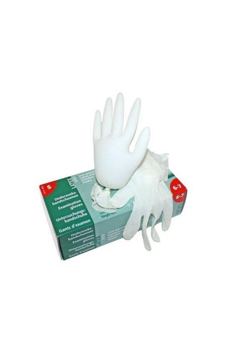 Handschuhe Latex DMD, Grösse:  S