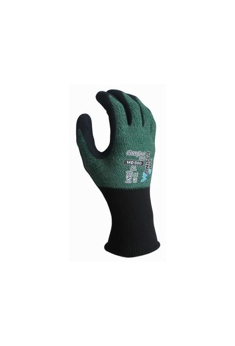Polyester/Nylon Handschuh WONDERGRIP WG 300 grün