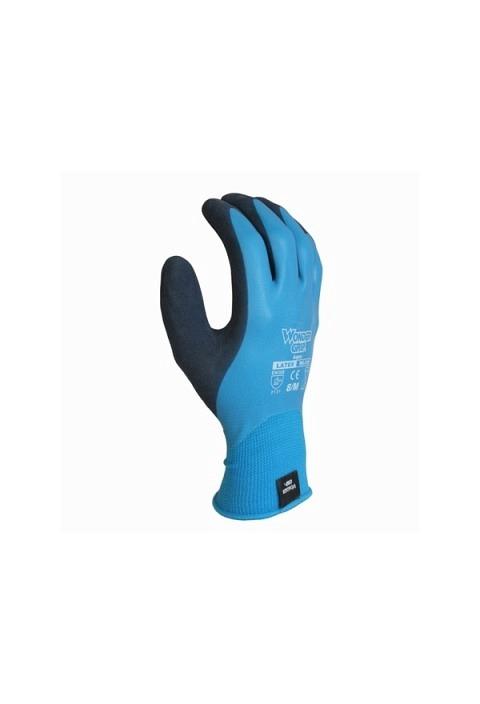 Nylon Handschuh WONDERGRIP WG 318 Aqua