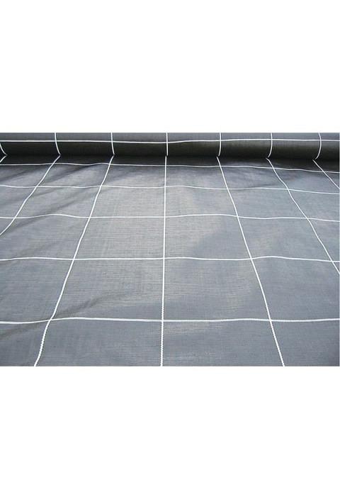 Bändchengewebe PP, 100 gr./m² schwarz