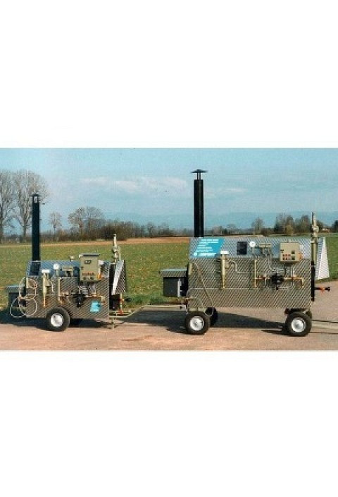 Dampfkessel MS 200 - 250 kg/h